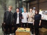 『Amuse Fes』事前特番に出演した(左から)辻村有記、岡野昭仁、KEIGO、高橋優、佐々木萌