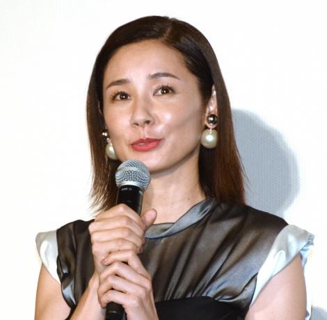 映画『ラブ×ドック』公開記念舞台あいさつに出席した吉田羊 (C)ORICON NewS inc.