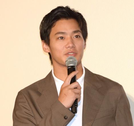 映画『ラブ×ドック』公開記念舞台あいさつに出席した野村周平 (C)ORICON NewS inc.