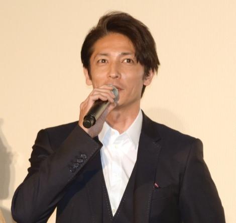 映画『ラブ×ドック』公開記念舞台あいさつに出席した玉木宏 (C)ORICON NewS inc.