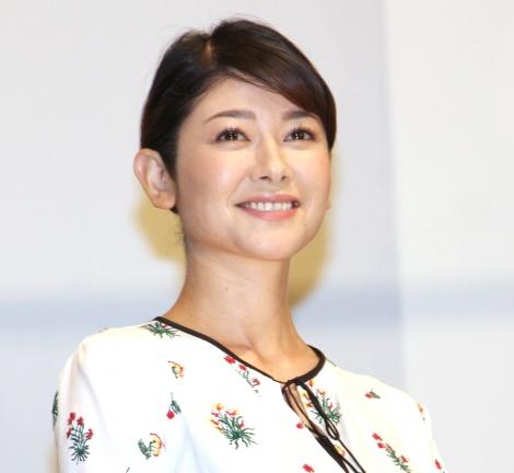 映画『孤狼の血』初日舞台あいさつに出席した真木よう子 (C)ORICON NewS inc.