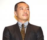 映画『孤狼の血』初日舞台あいさつに出席した音尾琢真 (C)ORICON NewS inc.