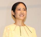 映画『孤狼の血』初日舞台あいさつに出席した阿部純子 (C)ORICON NewS inc.