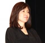 映画『孤狼の血』初日舞台あいさつに出席した柚月裕子氏 (C)ORICON NewS inc.