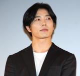 映画『蝶の眠り』初日舞台あいさつに出席したキム・ジェウク (C)ORICON NewS inc.