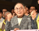 映画『妻よ薔薇のように 家族はつらいよIII』のイベントに出席した橋爪功 (C)ORICON NewS inc.