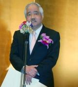 『第22回橋田賞』の受賞スピーチで喜びを語った岸井成格氏 (C)ORICON NewS inc.