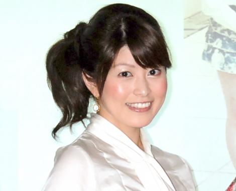サムネイル 第1子出産を発表した森麻季アナウンサー (C)ORICON NewS inc.