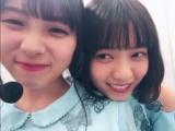 (左から)与田祐希、西野七瀬(撮影/秋元真夏)=『乃木撮』公式ツイッターより