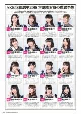 『AKB48総選挙公式ガイドブック2018』(講談社)取材班が予想した選抜16人