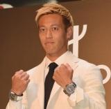 『HUBLOT LOVES FOOTBALL Special Exhibition 開催記念イベント』第1部に出席した本田圭佑(C)ORICON NewS inc.