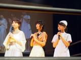 (左から)おのののか、寺嶋由芙、桃月なしこ (C)ORICON NewS inc.