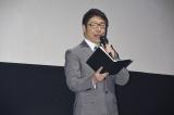 映画『ランペイジ 巨獣大乱闘』(5月18日公開)の試写会でゆるキャラたちが大乱闘=辻よしなり
