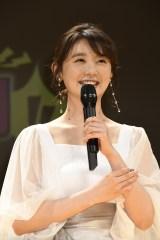映画『ランペイジ 巨獣大乱闘』(5月18日公開)の試写会でゆるキャラたちが大乱闘=おのののか