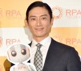 『RPAテクノロジーズ』CMキャラクター就任記者発表会に出席した伊勢谷友介 (C)ORICON NewS inc.