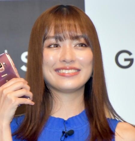 最新スマートフォン『Galaxy S9 S9+』PRイベントに出席した内田理央(C)ORICON NewS inc.