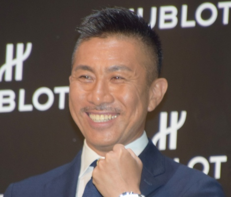 『HUBLOT LOVES FOOTBALL Special Exhibition 開催記念イベント』に出席した前園真聖(C)ORICON NewS inc.