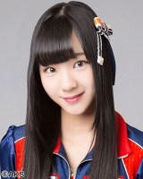 SKE48 23rdシングル選抜メンバーの末永桜花(C)AKS