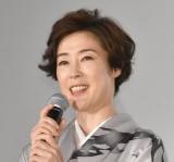 映画『のみとり侍』初日舞台あいさつに出席した寺島しのぶ (C)ORICON NewS inc.