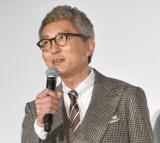 映画『のみとり侍』初日舞台あいさつに出席した松重豊 (C)ORICON NewS inc.