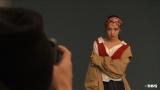 20日放送のMBS・TBS系『情熱大陸』専属モデルを務める雑誌『ViVi』の撮影をする藤田ニコル (C)MBS