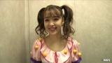 サーティワンアイスクリームのCM衣装に身を包んだ藤田ニコル (C)MBS