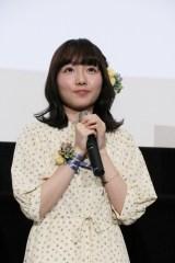 劇場アニメ『あさがおと加瀬さん。』完成披露上映会に出席した木戸衣吹