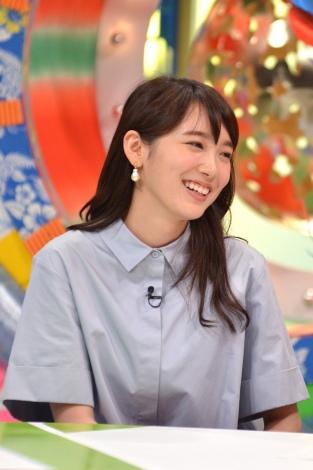 5月19日放送、MBS・TBS系『親の顔見たい!ザ・ワールド』ゲストの飯豊まりえ(C)MBS