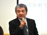 「タイタンの学校」の学校説明会に出席したテレビプロデューサーの菅賢治氏 (C)ORICON NewS inc.
