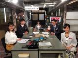 20日放送の日本テレビ『日の丸プレゼンター』に出演する(左から)村上佳菜子、山里亮太、芦田愛菜、飯尾和樹、小島瑠璃子 (C)日本テレビ
