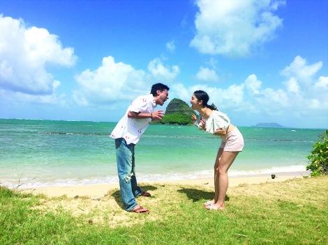 山田孝之&長澤まさみ、劇中でのラブショットが公開 (C)2018 『50回目のファーストキス』製作委員会
