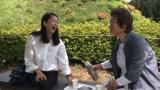 富士山の伏流水を使った絶品の水饅頭を味わう(C)テレビ朝日