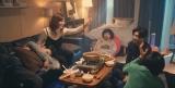 鉄平の自宅で鍋パーティー (C)AbemaTV