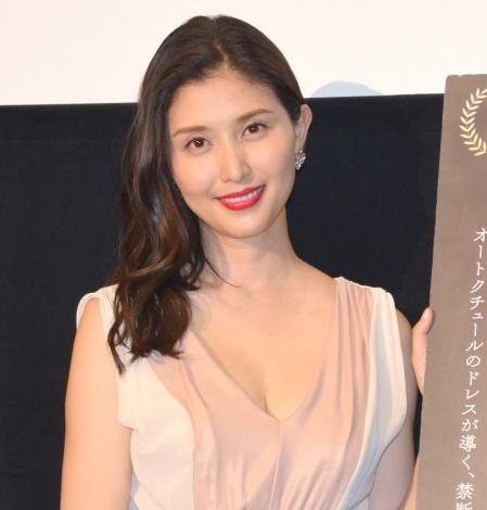 サムネイル 大胆発言で驚かせた橋本マナミ (C)ORICON NewS inc.