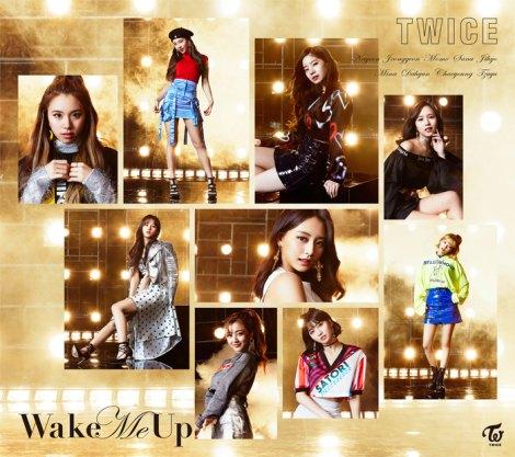 日本3rdシングル「Wake Me Up」初回限定盤B
