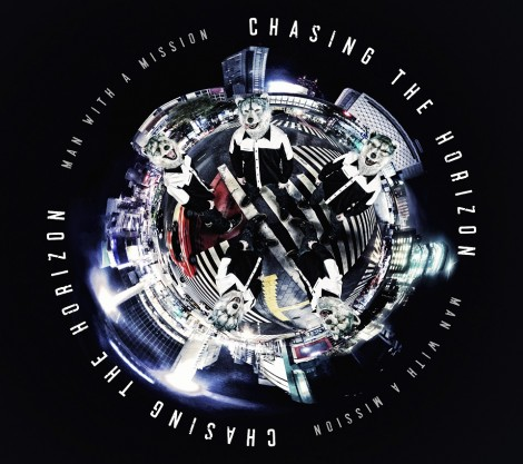 MAN WITH A MISSIONの5thアルバム『Chasing the Horizon』初回限定盤(6月6日発売)
