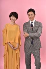 ドラマ『サバイバル・ウェディング』で初共演する波瑠、伊勢谷友介 (C)日本テレビ
