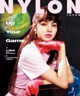 『NYLON JAPAN』7月号の表紙に登場するBLACKPINKのLISA