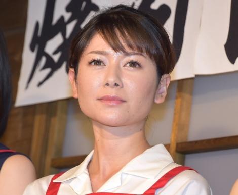 映画『焼肉ドラゴン』のタイアップ店オープン記念イベントに出席した真木よう子 (C)ORICON NewS inc.