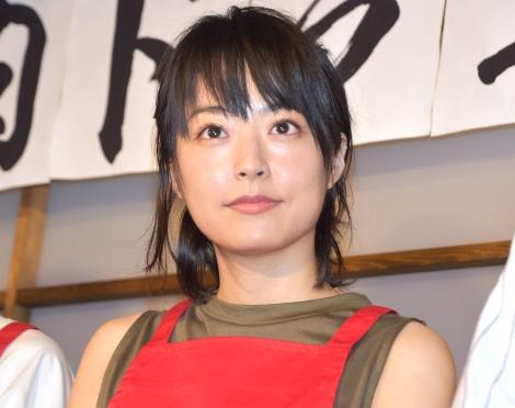 映画『焼肉ドラゴン』のタイアップ店オープン記念イベントに出席した井上真央 (C)ORICON NewS inc.