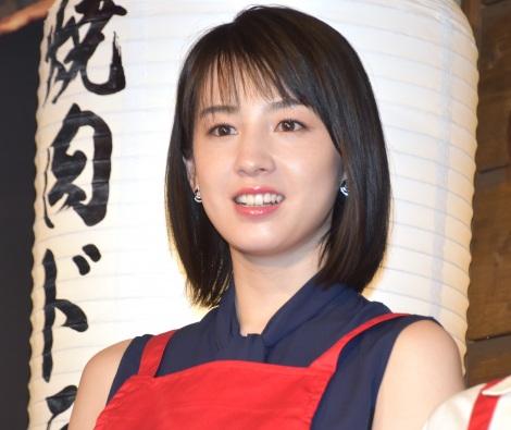 映画『焼肉ドラゴン』のタイアップ店オープン記念イベントに出席した桜庭ななみ (C)ORICON NewS inc.