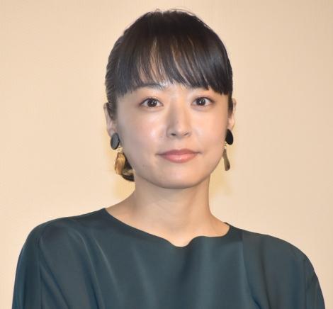 映画『焼肉ドラゴン』の舞台あいさつに登壇した井上真央 (C)ORICON NewS inc.