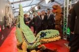 レゴで制作された主人公オーウェンの相棒・恐竜ブルー(C)Universal Pictures