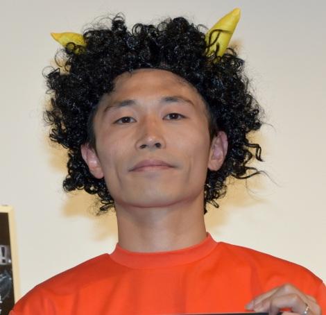 映画『ジオストーム』ブルーレイ&DVDリリース/デジタル配信記念イベントに出席した石田たくみ