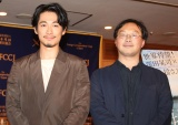 (左から)ディーン・フジオカ、深田晃司監督 (C)ORICON NewS inc.