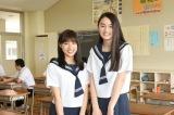 7月スタートのTBS系連続ドラマ『チア☆ダン』(毎週金曜 後10:00)に出演する土屋太鳳、八木莉可子 (C)TBS