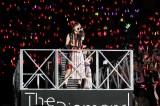 百田夏菜子=『ももいろクローバーZ 10th Anniversary The Diamond Four 〜in 桃響導夢〜』2日目公演より Photo by HAJIME KAMIIISAKA + Z