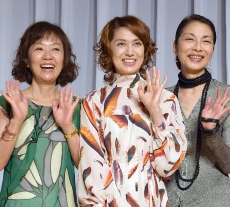 (左から)浅田美代子、剣幸、麻実れい (C)ORICON NewS inc.