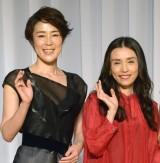 (左から)寺島しのぶ、中嶋朋子 (C)ORICON NewS inc.