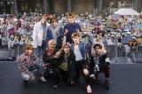 日本デビューしたNCT 127(前列左から)へチャン、ウィンウィン、ユウタ、テヨン、テイル (後列左から)ジャニー、マーク、ジェヒョン、ドヨン